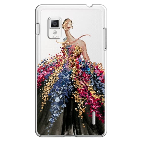 Optimus G Cases - Blooming Gown