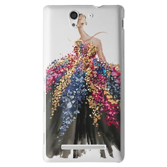 Sony C3 Cases - Blooming Gown