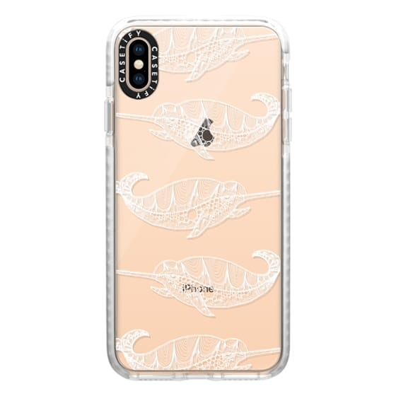 iPhone XS Max Cases - NARWAL (WHITE)