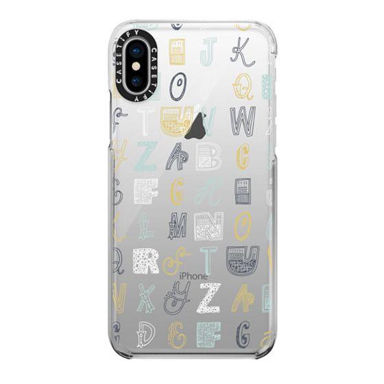 iPhone X Cases - ABCS (MULTICOLOR)