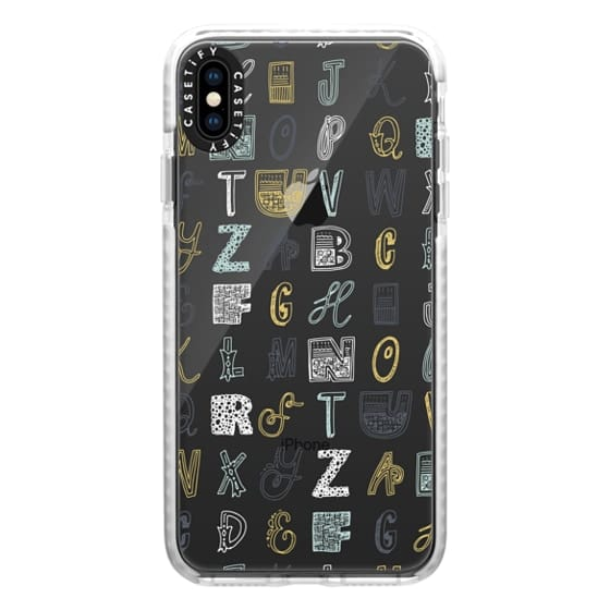 iPhone XS Max Cases - ABCS (MULTICOLOR)