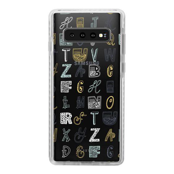 Samsung Galaxy S10 Plus Cases - ABCS (MULTICOLOR)