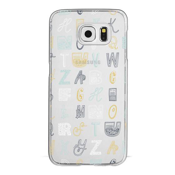 Samsung Galaxy S6 Cases - ABCS (MULTICOLOR)