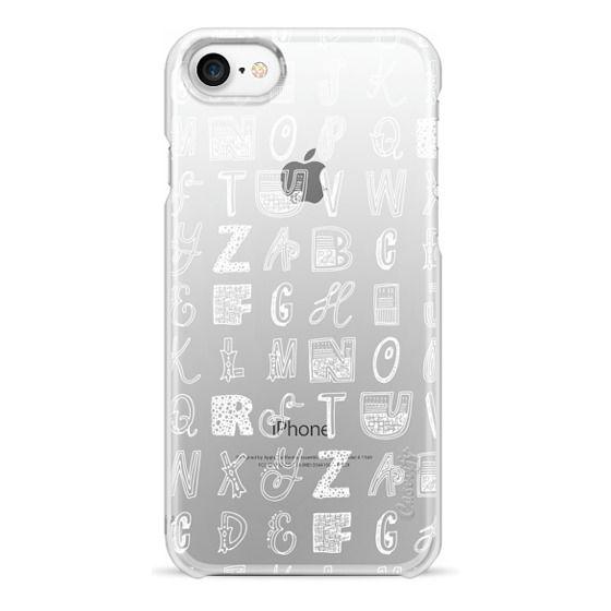 iPhone 7 Cases - ABCS (WHITE)