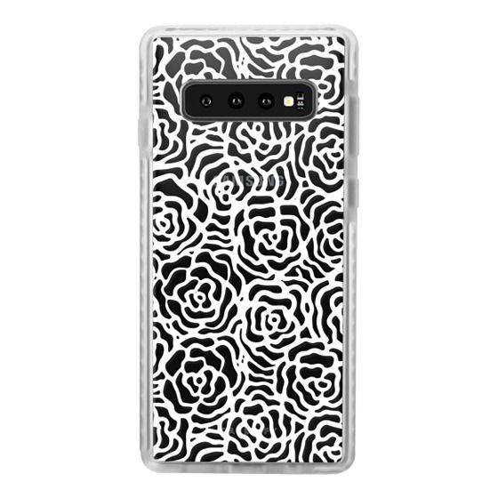 Samsung Galaxy S10 Plus Cases - BLOSSOM (WHITE)