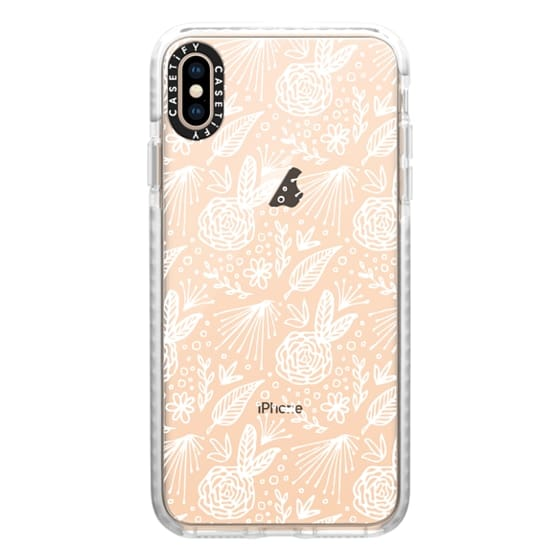 iPhone XS Max Cases - BLOOM (WHITE)
