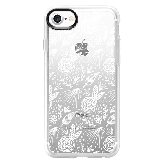 iPhone 7 Cases - BLOOM (WHITE)
