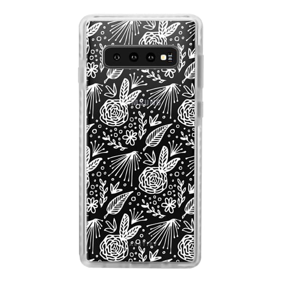 Samsung Galaxy S10 Plus Cases - BLOOM (WHITE)