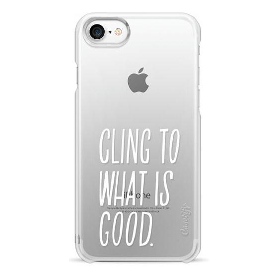 iPhone 7 Cases - ROMANS 12:9 (WHITE)