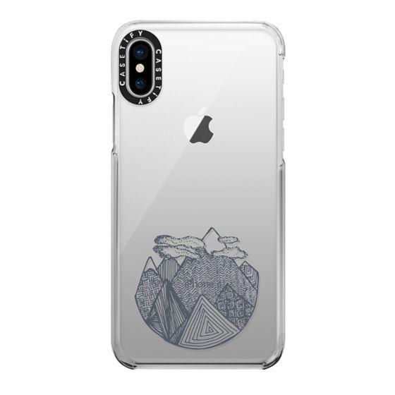 iPhone X Cases - SUMMIT (GREY)