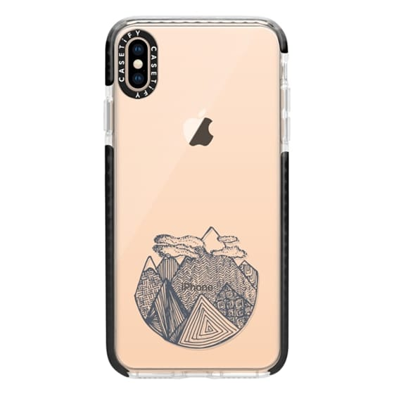 iPhone XS Max Cases - SUMMIT (GREY)