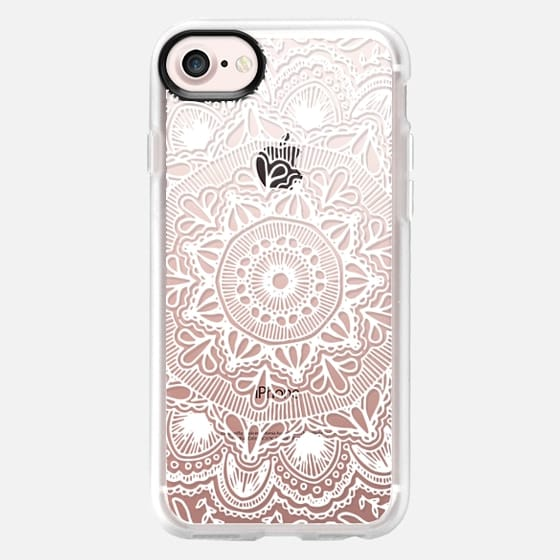 MANDALA (WHITE) - Snap Case