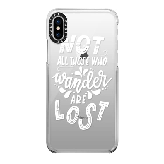 iPhone X Cases - TOLKIEN (WHITE)