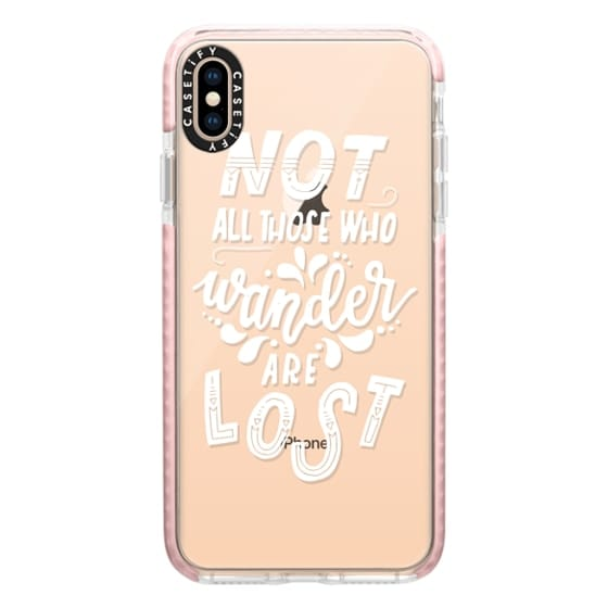 iPhone XS Max Cases - TOLKIEN (WHITE)