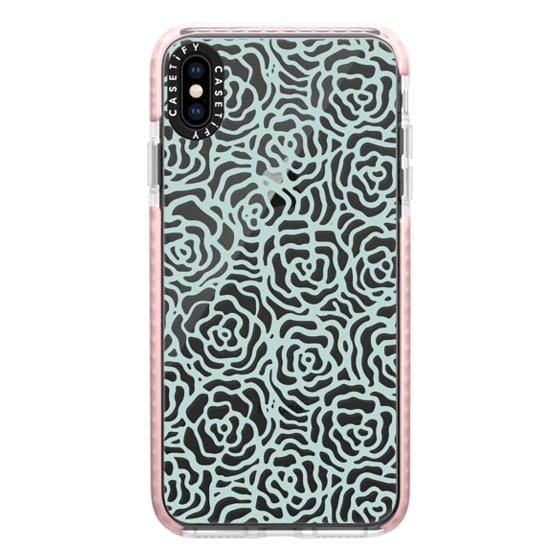 iPhone XS Max Cases - BLOSSOM (BLUE)