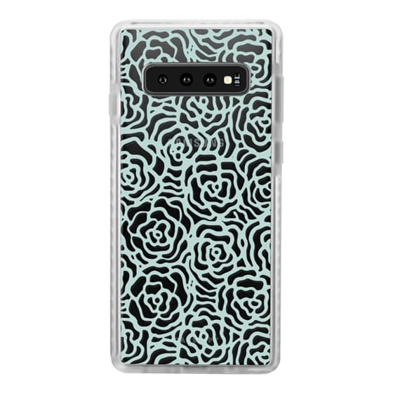 Samsung Galaxy S10 Plus Cases - BLOSSOM (BLUE)