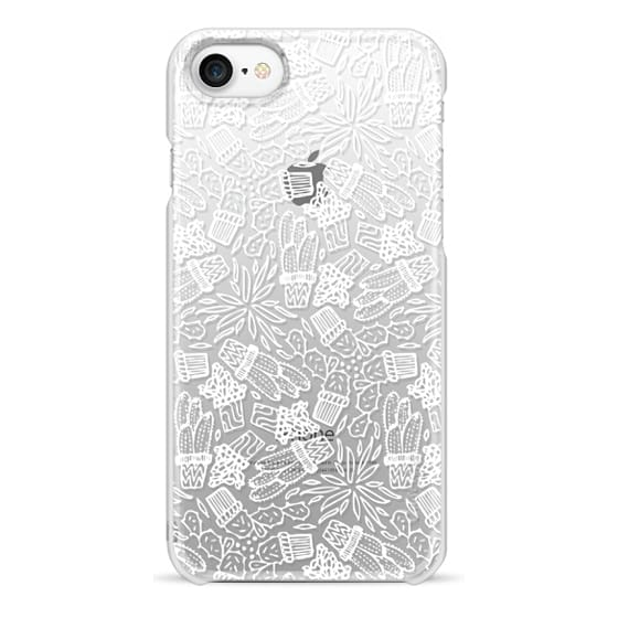 iPhone 7 Cases - CACTI (WHITE)