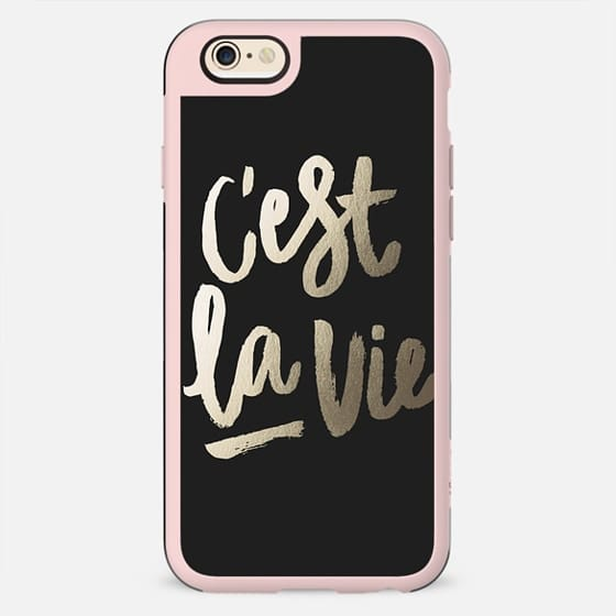 C'est La Vie by Marabou Design - New Standard Case