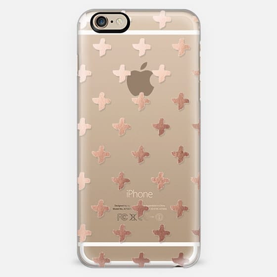 Rose Gold Cross by Marabou Design -