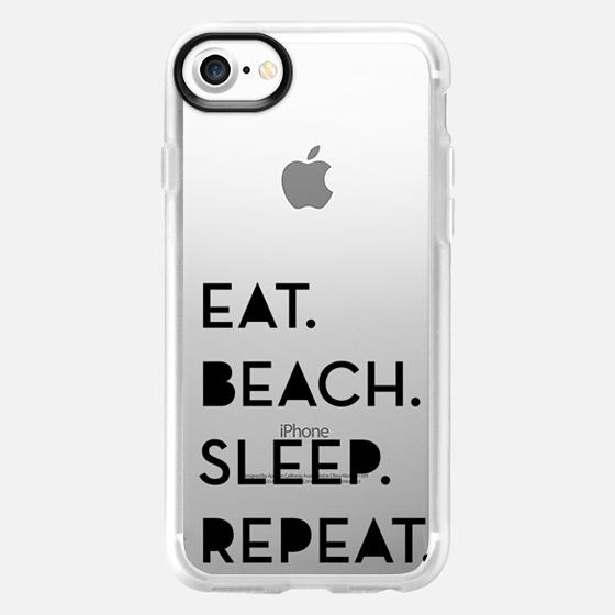 EAT,BEACH,SLEEP,REPEAT - Wallet Case