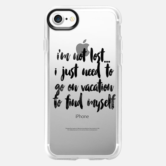 Im not lost i just need to go on vacation - Wallet Case