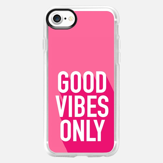 Good Vibes Only, breast cancer awareness  -