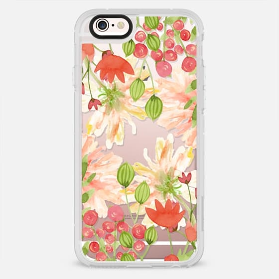 Floral watercolour wild flowers - New Standard Case