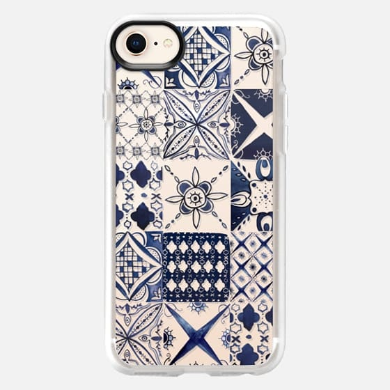 Morrocan tile pattern inspiration - Snap Case