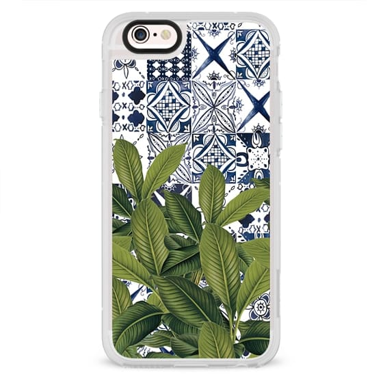 iPhone 6s Cases - Moroccan Leaves