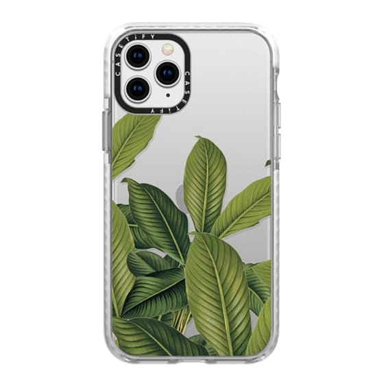 iPhone 11 Pro Cases - Tropical Leaves