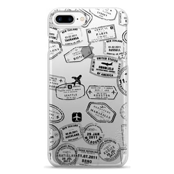 Snap iPhone 7 Plus Case - lets travel...where to