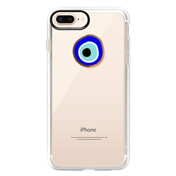 Grip iPhone 8 Plus Case - Eye will protect you gold eye
