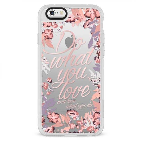 iPhone 4 Cases - Do what you love - nude