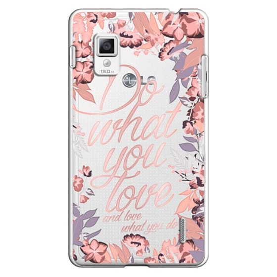 Optimus G Cases - Do what you love - nude