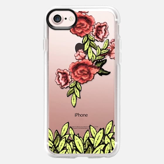 Distortedly Embroidery - Classic Grip Case