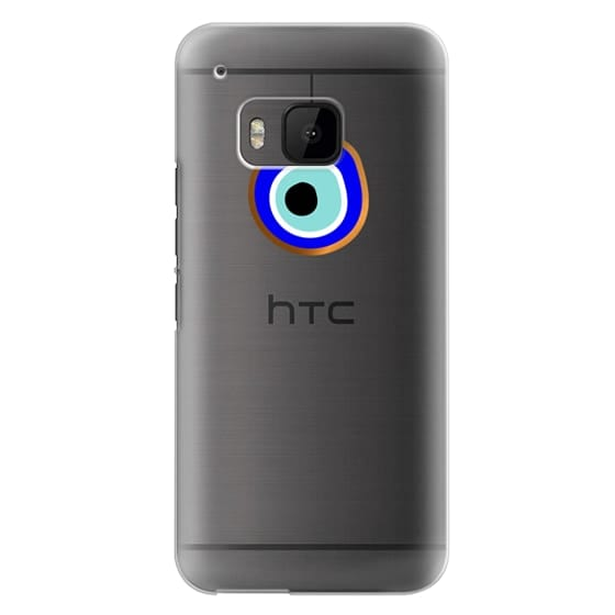 Htc One M9 Cases - Eye will protect you gold eye
