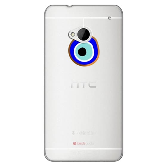 Htc One Cases - Eye will protect you gold eye