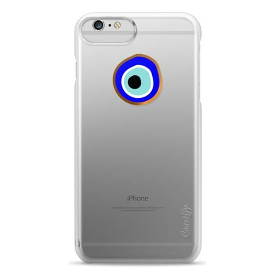 iPhone 6 Plus Cases - Eye will protect you gold eye