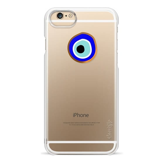 iPhone 6 Cases - Eye will protect you gold eye
