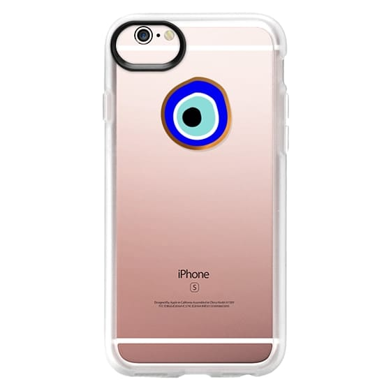 iPhone 6s Cases - Eye will protect you gold eye