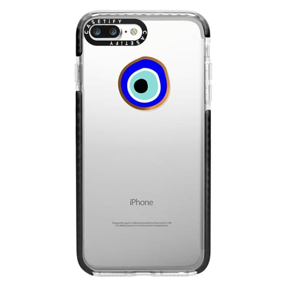 iPhone 7 Plus Cases - Eye will protect you gold eye