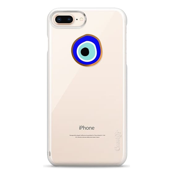iPhone 8 Plus Cases - Eye will protect you gold eye