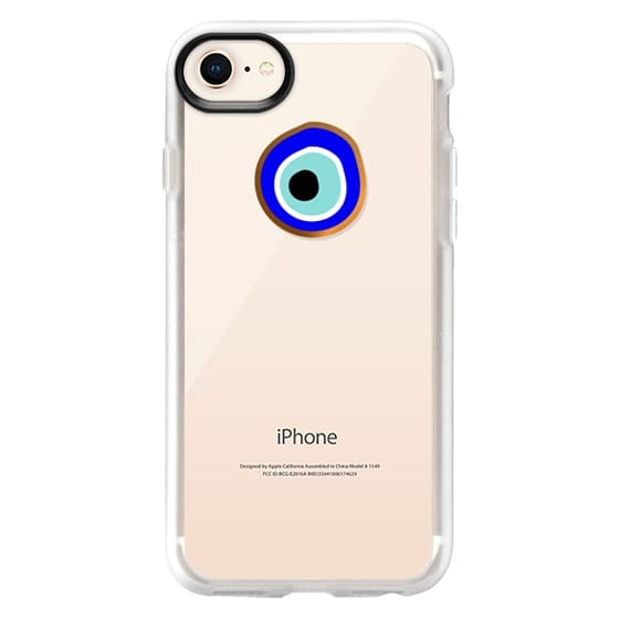 iPhone 8 Cases - Eye will protect you gold eye