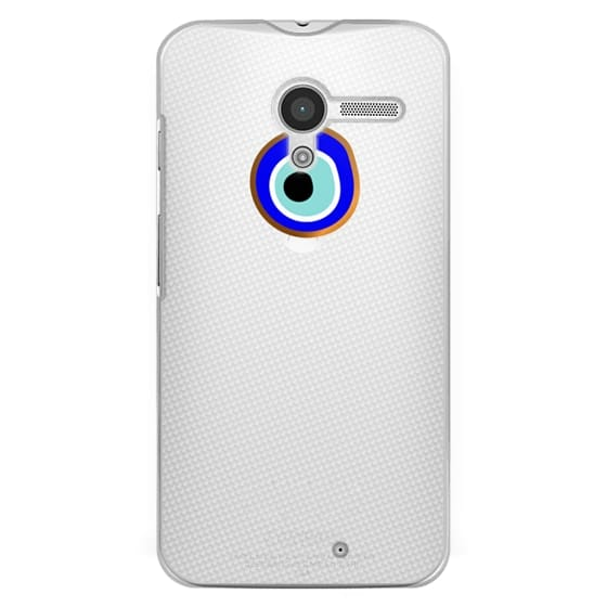 Moto X Cases - Eye will protect you gold eye