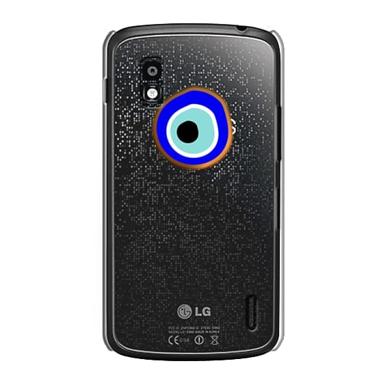 Nexus 4 Cases - Eye will protect you gold eye