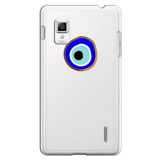 Optimus G Cases - Eye will protect you gold eye