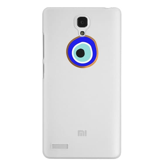 Redmi Note Cases - Eye will protect you gold eye