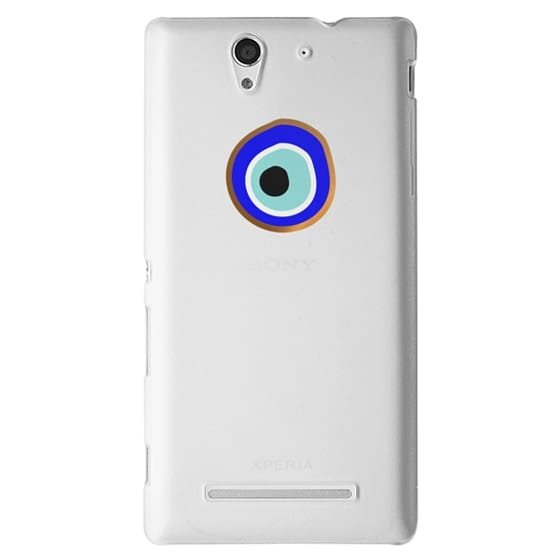 Sony C3 Cases - Eye will protect you gold eye