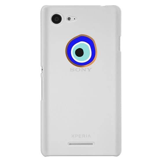 Sony E3 Cases - Eye will protect you gold eye