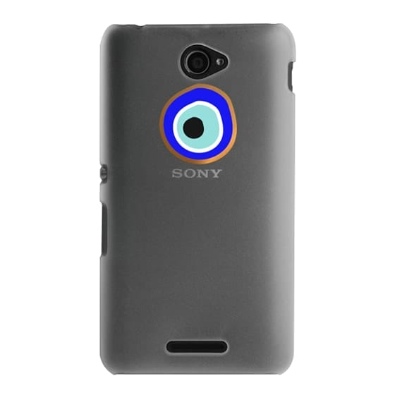 Sony E4 Cases - Eye will protect you gold eye